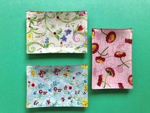 Bandejas rectangulares (15,5 x 10,5) 3,50€