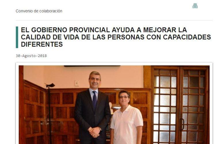 artículo Diputación de Toledo