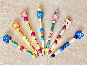 Bolígrafos decorados 1,5€